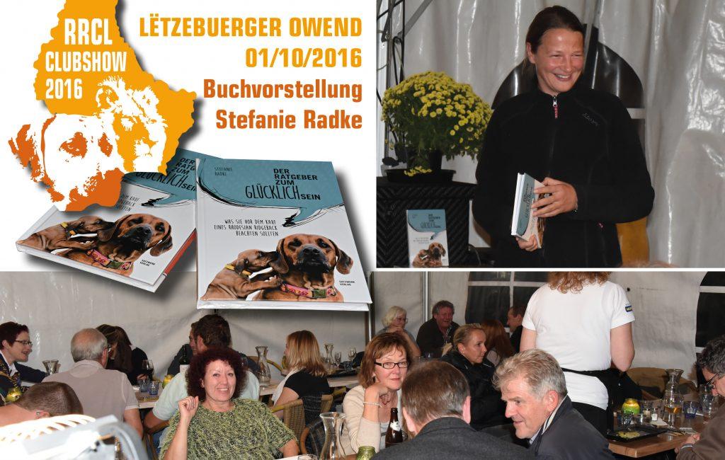 Lesung beim Ridgeback Club Luxemburg